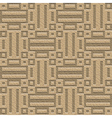 ornate leather seamless pattern vector image