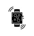 smart watch wireless icon vector image