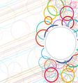 background abstract circle vector image