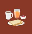 coffeebread vector image