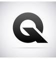 logo for letter Q Design template vector image