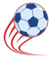 soccer ball poster vector image