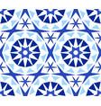 kaleidoscope abstract flower pattern vector image