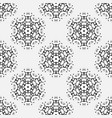 seamless pattern in eastern oriental islamic vector image