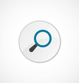 search icon 2 colored vector image