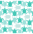 Turtle wallpaper vector image vector image