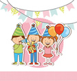 calebration party vector image