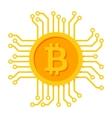 Digital Money Icon vector image