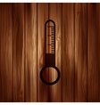 Thermometer web icon vector image vector image