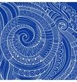 Vintage abstract doodles decorative ornamental vector image