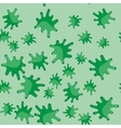 Green blot cartoon seamless pattern 617 vector image