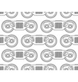 railroad bogie pattern vector image