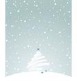 winter holiday light vector image