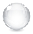 White sphere vector image