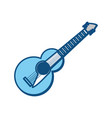 guitar music instrument vector image