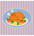 Turkey Thanksgiving Day vector image