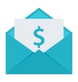 Email Money Transfer Concept vector image vector image