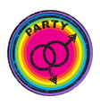 queer party vector image