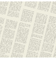 newspaper pattern vector image