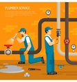 Inspection Of Pipeline Composition vector image