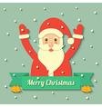 Christmas Santa Claus background vector image