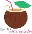 Pina Colada vector image