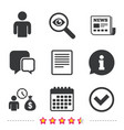 bank loans icons fill document and get money vector image
