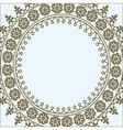 geometric border vector image vector image