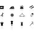 Sewing symbols vector image