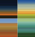 Stripe nature background vector image