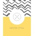 Set of sharp mistical line logos vector image