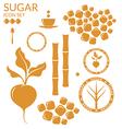 Sugar Set vector image