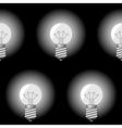 electrical bulbs vector image