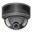video surveillance camera 01 vector image vector image