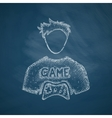 gamer icon vector image