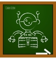 outline icon vector image