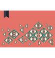 Trendy geometric composition vector image