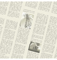 newspaper seamless vector image