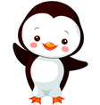 cartoon penguin vector image