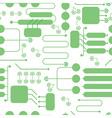 pattern technology scheme vector image