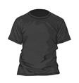 T-shirt design template vector image
