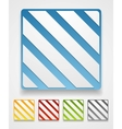 Abstract graphic squares design vector image