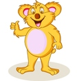 koala cartoon vector image