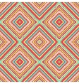 Striped diagonal rectangle seamless pattern vector image