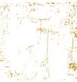 Light grunge gold white texture dolgen vector image
