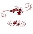 Vintage design element - grape vector image vector image