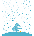 winter holiday white vector image