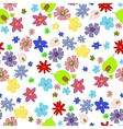 flowers-seamless vector image