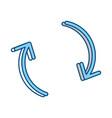 infographic arrows symbol vector image