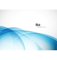 Blue business template vector image